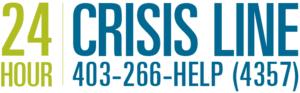 The Calgary Crisis Line is available 24 hours a day at 403-266-4357