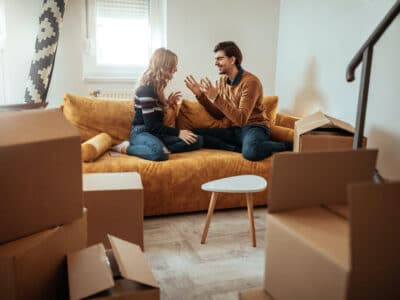 A young couple discussing getting a cohabitation agreement from the lawyers at West Legal in Calgary