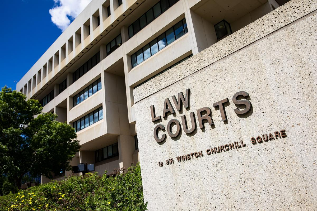 Law Courts in Alberta
