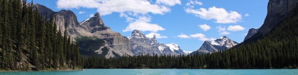 Banff Alberta Mountain Lake