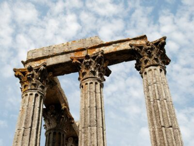 Pillar in Ancient Rome