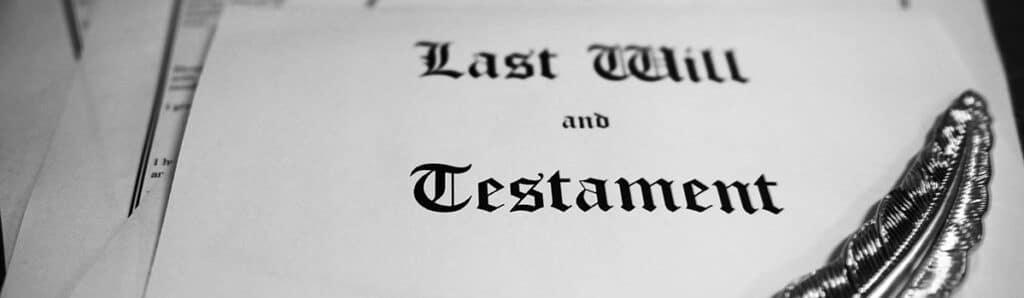 Last Will and Testament in Calgary, Alberta