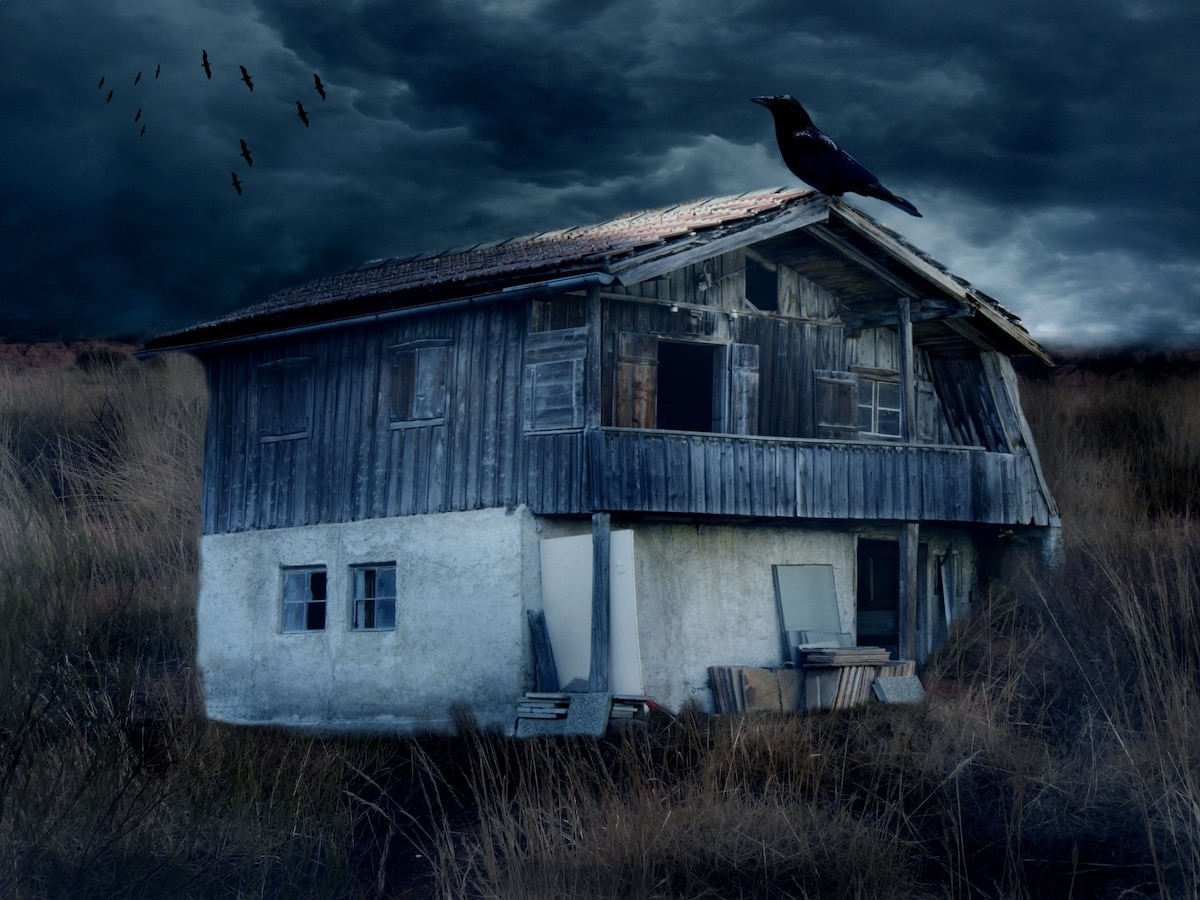a haunted house in Alberta
