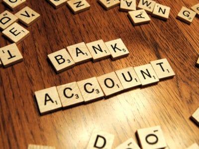 bank account scrabble