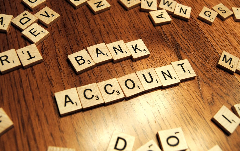bank account scrabble
