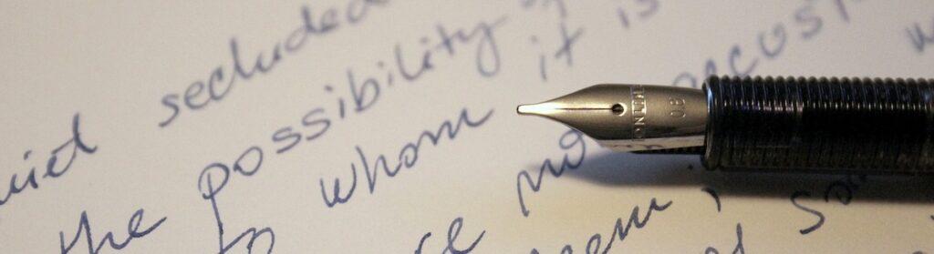 A handwritten Holograph Will